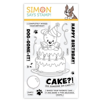 Simon Says Clear Stamps BONE-A-FIDE BIRTHDAY sss101955 You Are Loved