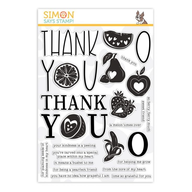 Simon Says Clear Stamps FRUIT FROM THE HEART sss101876 You Are Loved zoom image