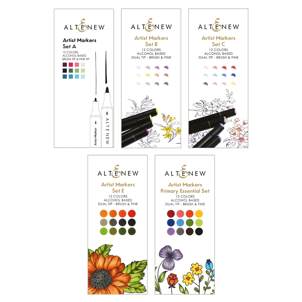 Altenew ARTIST MARKERS 60 COLOR SET ALT2988 zoom image