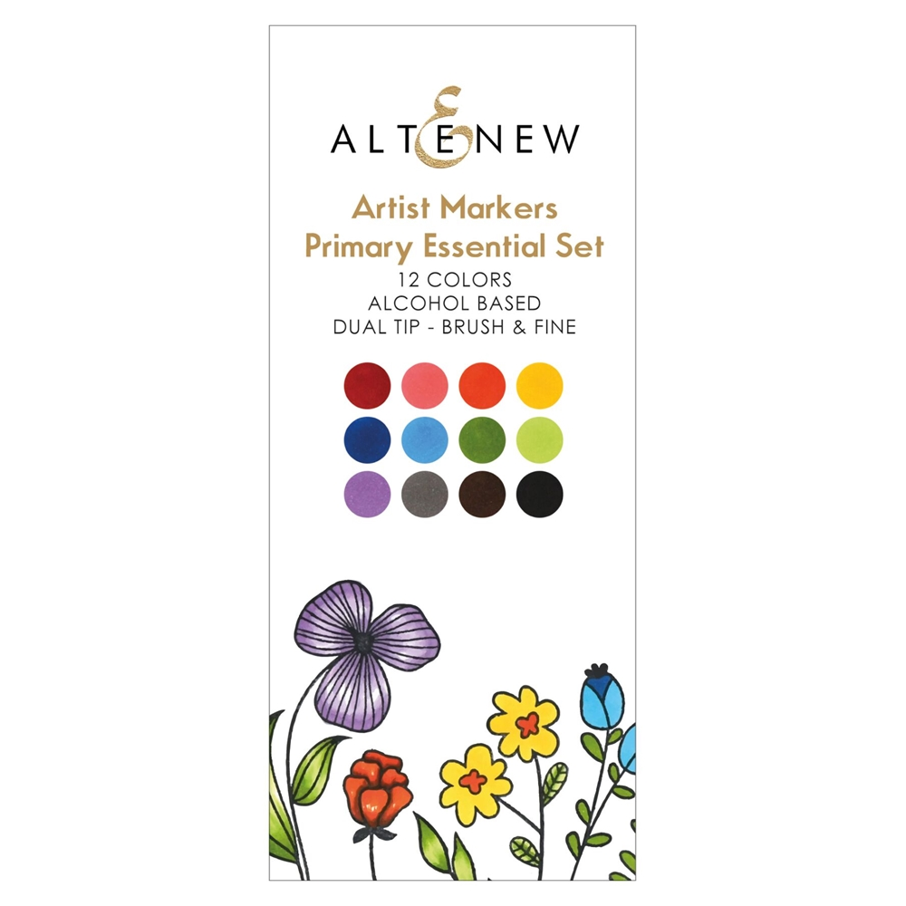 Altenew ARTIST MARKERS PRIMARY ESSENTIALS ALT2539 zoom image