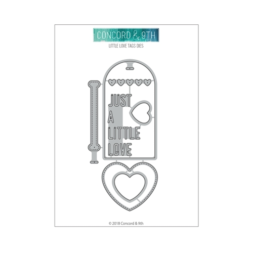 Concord & 9th LITTLE LOVE TAGS Die Set 10516 Preview Image