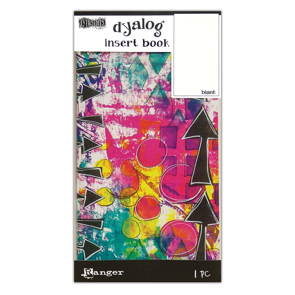 Ranger Dylusions BLANK 2 Dyalog Insert Book dyt63469 zoom image