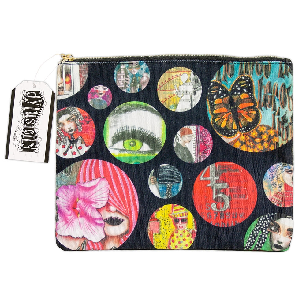 Ranger Dylusions LARGE ACCESSORY BAG Dyan Reaveley dye62233 zoom image