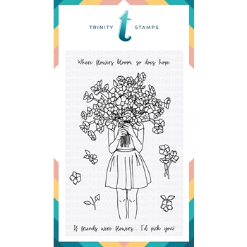 Trinity Stamps BOUQUET OF HOPE Clear Stamp Set 1542607994*