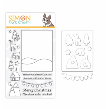 Simon Says Stamps And Dies WINTER SCENE set333ws Fun And Festive *