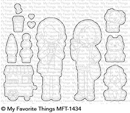 My Favorite Things FRIENDS AT FIRST SIP Die-Namics MFT1434 Preview Image