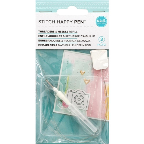We R Memory Keepers THREADERS AND NEEDLE REFILL Stitch Happy Pen 660486 Preview Image