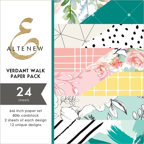 Altenew VERDANT WALK 6x6 Paper Pack ALT2892 Preview Image
