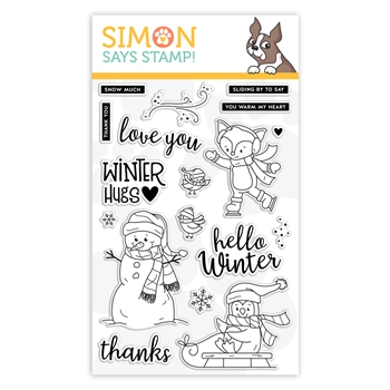 Simon Says Clear Stamps WINTER HUGS sss101965