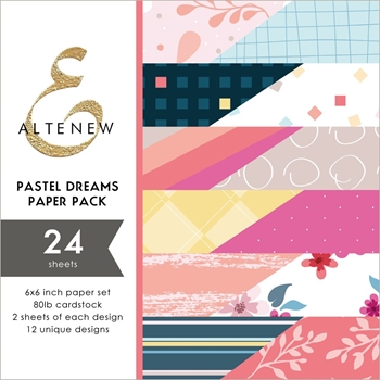 Altenew PASTEL DREAMS 6x6 Paper Pack ALT2891