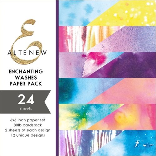 Altenew ENCHANTING WASHES 6x6 Paper Pack ALT2889 Preview Image