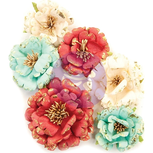 Prima Marketing PRETTY IN ROUGE Midnight Garden Flowers 637842 Preview Image