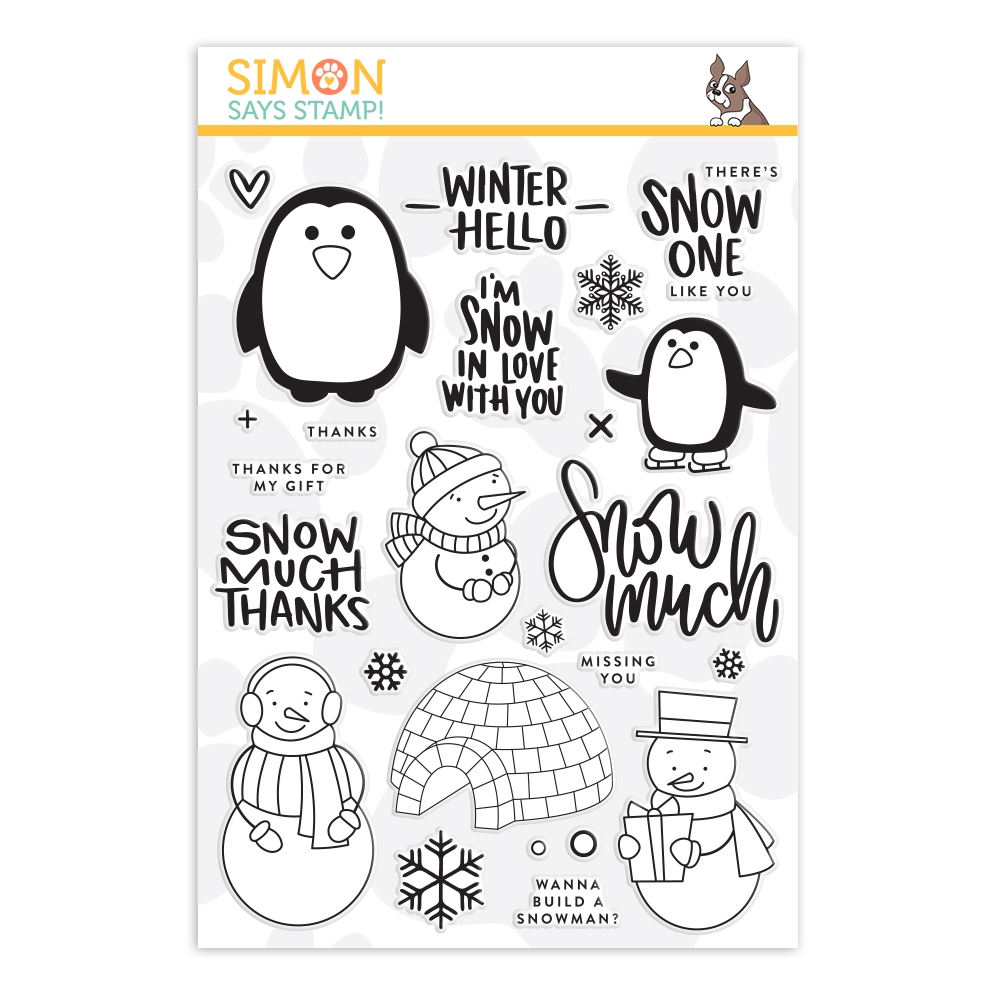 Simon Says Clear Stamps SNOW MUCH sss101896  zoom image