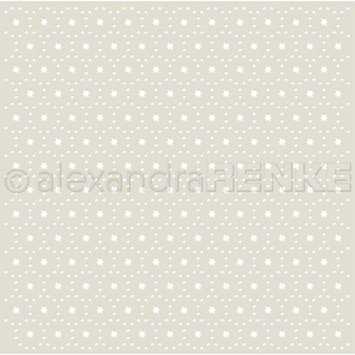 Alexandra Renke STARS AND DOTS PATTERN Stencil starmu0008 Preview Image