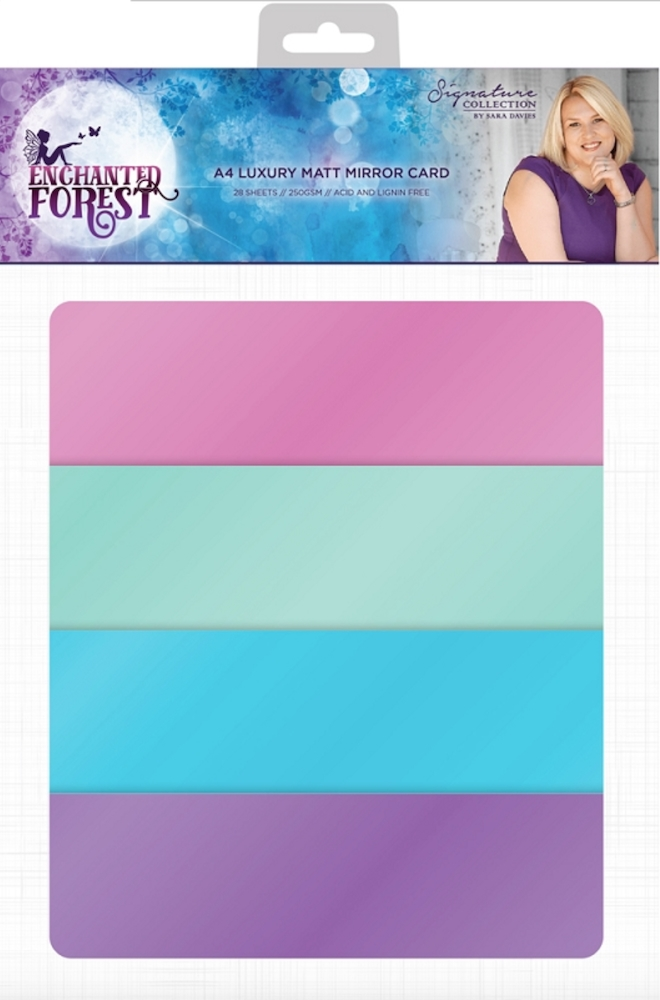 Crafter's Companion ENCHANTED FOREST A4 Luxury Matte Mirror Cardstock s-ef-mirrorm zoom image