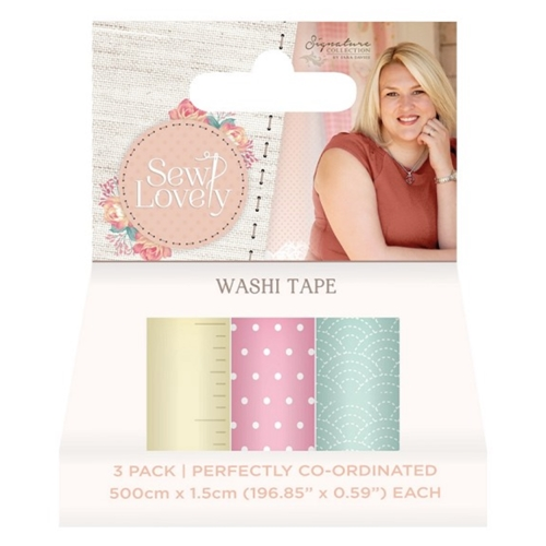 Crafter's Companion SEW LOVELY Washi Tape s-sl-washi* Preview Image
