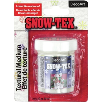 DecoArt SNOW-TEX Texture Medium 2oz das9c-3