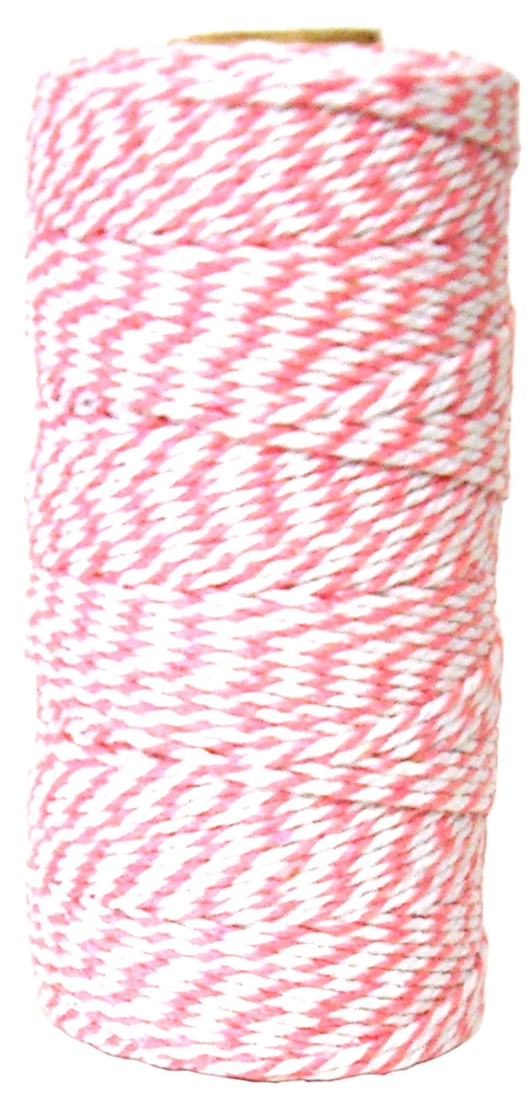 May Arts PINK Baker's Twine Twisted Ribbon 4120217* zoom image