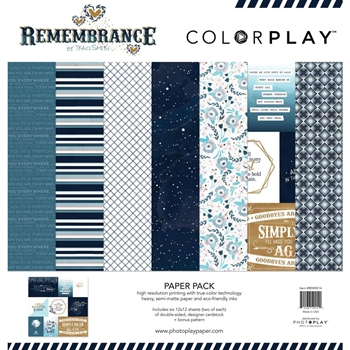PhotoPlay REMEMBRANCE 12 x 12 Collection Pack ColorPlay rem9214