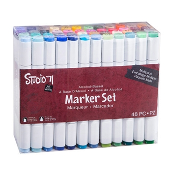 Studio 71 MULTIPACK 48 Piece Alcohol Marker Set 30038427