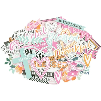 Kaisercraft BLESSED Collectables Die Cut Shapes CT952