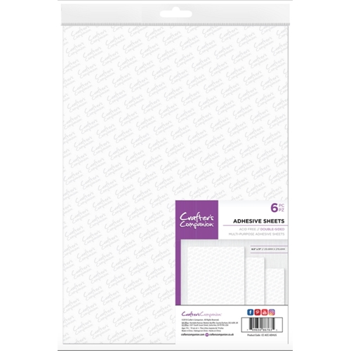 Crafter's Companion DOUBLE SIDED ADHESIVE SHEETS cc-acc-adhus Preview Image