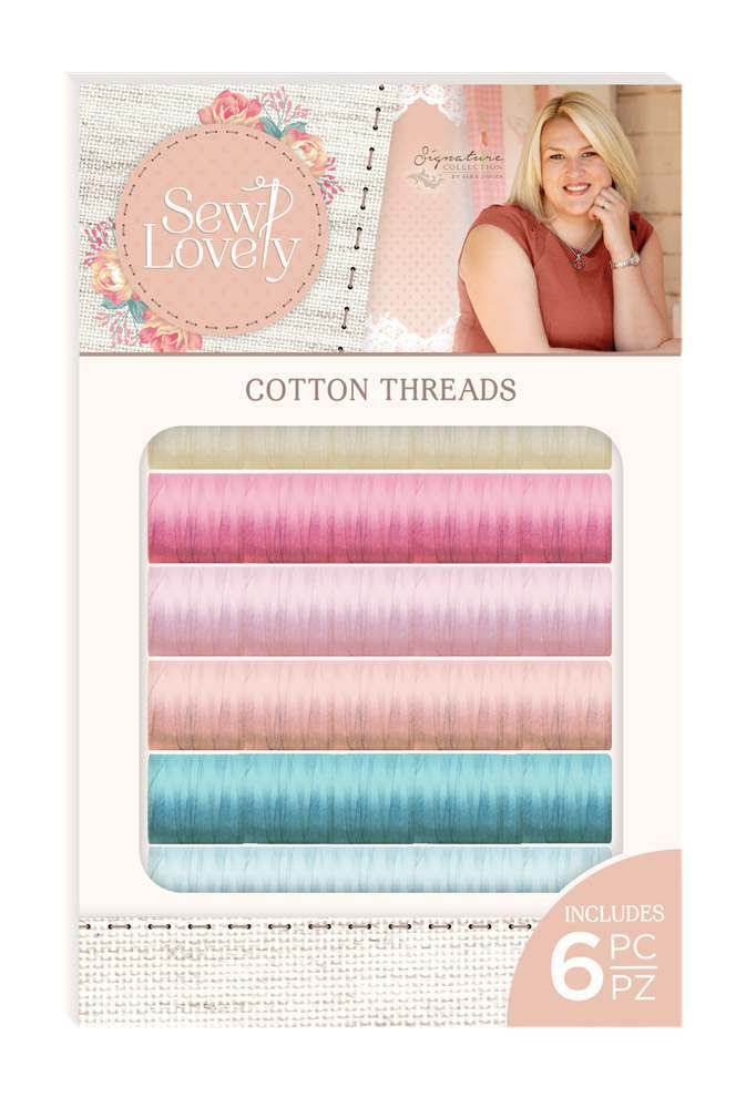 Crafter's Companion SEW LOVELY Cotton Threads s-sl-threadb zoom image