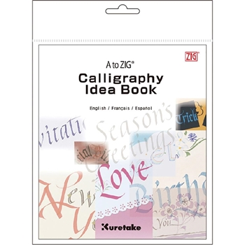 Zig Kuretake A TO ZIG CALLIGRAPHY Idea Book 02876*