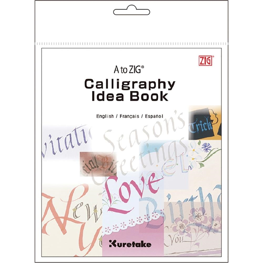 Zig Kuretake A TO ZIG CALLIGRAPHY Idea Book 02876 zoom image