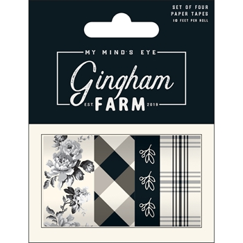 My Mind's Eye GINGHAM FARM Decorative Tape ghf119