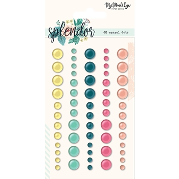 My Mind's Eye SPLENDOR Enamel Dots spl114