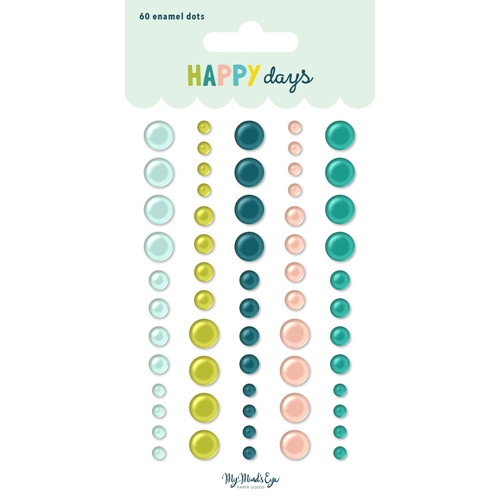 My Mind's Eye HAPPY DAYS Enamel Dots hpd114 Preview Image