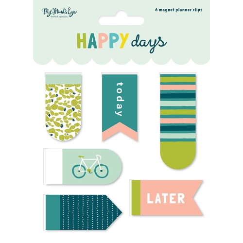 My Mind's Eye HAPPY DAYS Magnetic Clips hpd120* Preview Image