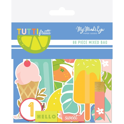 My Mind's Eye TUTTI FRUTTI Mixed Bag tut116 Preview Image