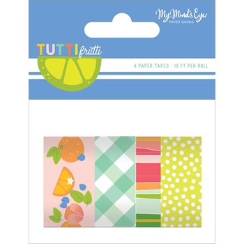 My Mind's Eye TUTTI FRUTTI Decorative Tape tut119