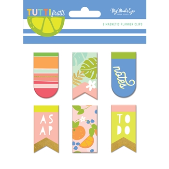 My Mind's Eye TUTTI FRUTTI Magnetic Clips tut120*