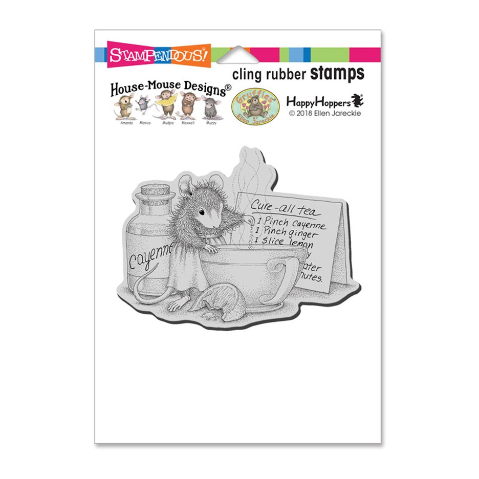 Stampendous, House Mouse Cure All Tea