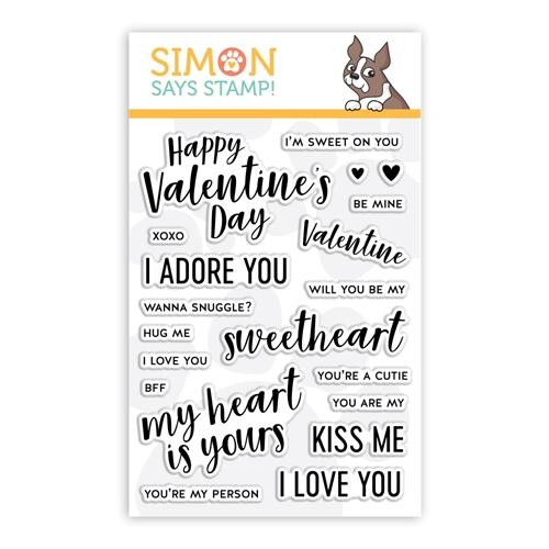 Simon Says Clear Stamps LOVE NOTES sss101967 Preview Image