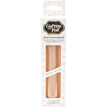 Couture Creations ROSE GOLD VINTAGE MATTE FINISH Heat Activated Foil co725694