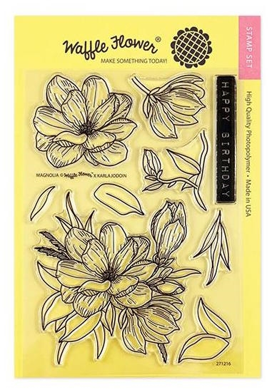 Waffle Flower MAGNOLIA Clear Stamps 271216 zoom image