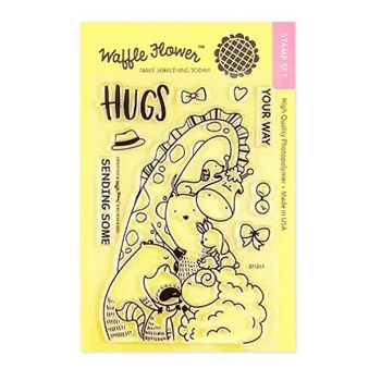 Waffle Flower GROUP HUG Clear Stamps 271217