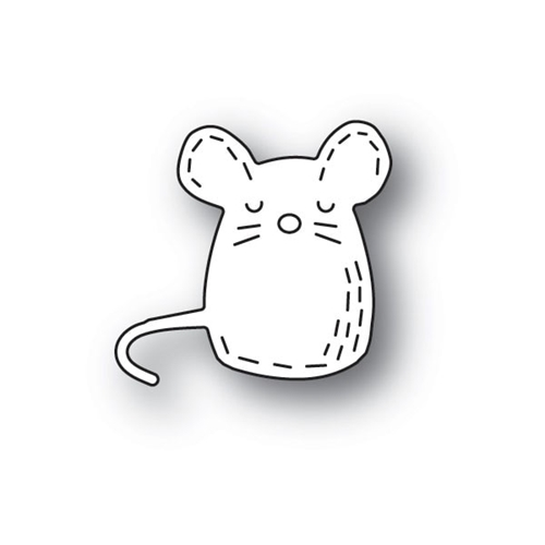 Poppy Stamps WHITTLE MOUSE Craft Die 2153 Preview Image