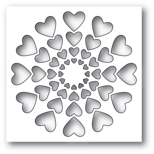 Memory Box BRIGHT HEARTS Craft Die 94120 Preview Image