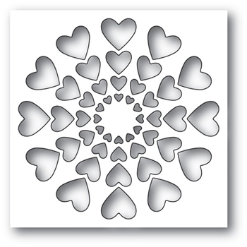 Memory Box BRIGHT HEARTS Craft Die 94120
