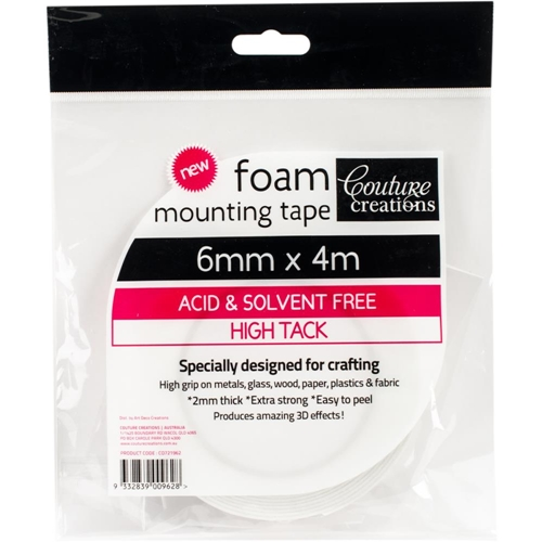 Couture Creations 6mmx4m FOAM MOUNTING TAPE co721962 Preview Image