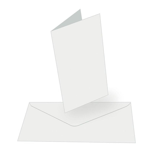 Couture Creations WHITE Tall Cards With Envelopes co724847 Preview Image