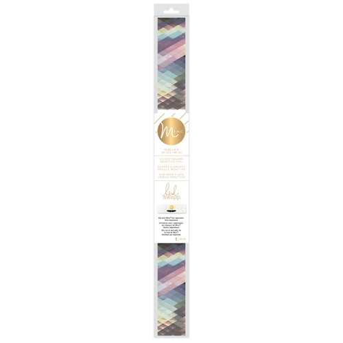 Heidi Swapp SILVER SQUARE MINC Reactive Foil Roll 314496 Preview Image