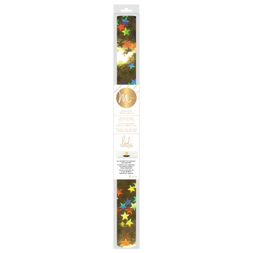 Heidi Swapp GOLD STARS MINC Reactive Foil Roll 314489 Preview Image