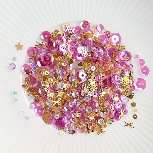 Little Things From Lucy's Cards HAPPY CRAFTING Sparkly Shaker Mix LB195 Preview Image