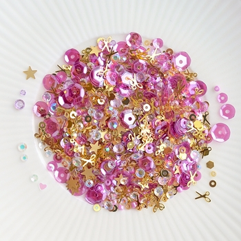 Little Things From Lucy's Cards HAPPY CRAFTING Sparkly Shaker Mix LB195